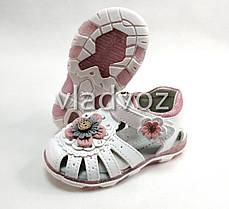 Детские светящиеся босоножки сандалии сандали с led подсветкой для девочки 25р., фото 2