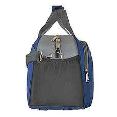 Дорожная сумка синяя TONGSHENG 49x32x22 полиэстр  кс999028син, фото 2