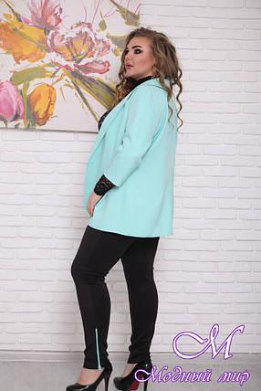 Женский пиджак большого размера (р. 48-90) арт. Марианна, фото 2
