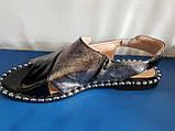 Женские кожаные босоножки Mario Muzi, фото 4