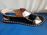 Женские кожаные босоножки Mario Muzi, фото 2