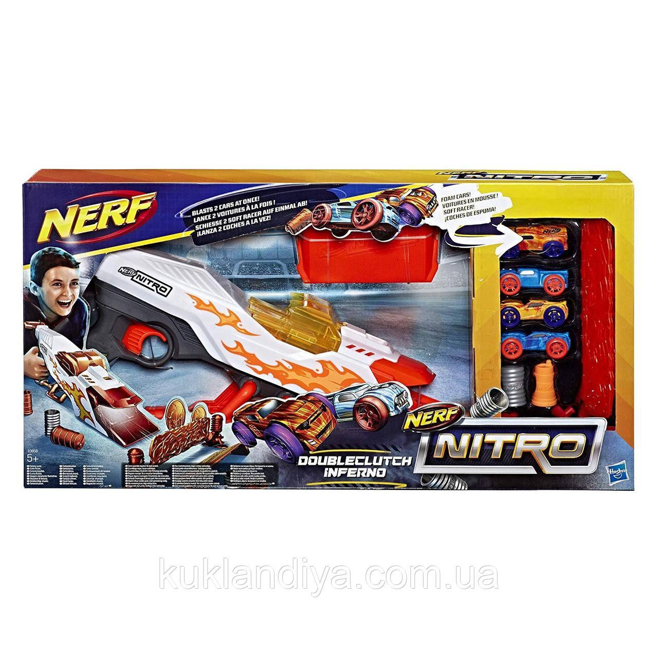 Пускатель NERF  Inferno Nitro