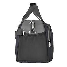 Дорожная сумка полиэстр TONGSHENG 49x32x22 чёрная  кс999028ч, фото 2