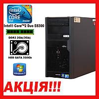 Системный блок Fujitsu ESPRIMO E3521 Intel C2D E8300/DDR3 2Gb/ HDD250 k. 9015