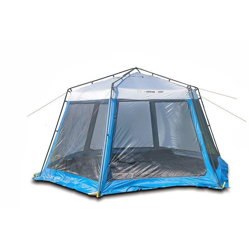 Тент-шатер Mimir X-2013 6-ти угольный, 1-но слойный, сетка