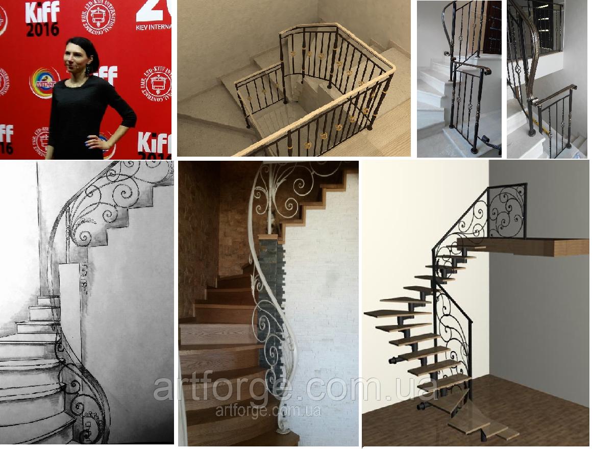 Дизайн-проекты изделий из металла: перила, мебель, декор и многое др.