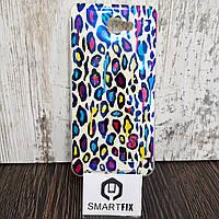 Чехол с рисунком для Samsung J7 Prime Леопардовый стиль
