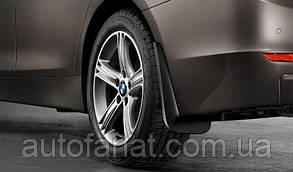 Оригинальный  комплект брызговиков передних BMW Х6 (E71, E72) (82160430748)