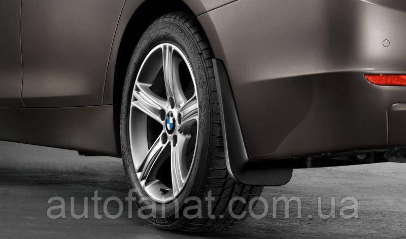 Оригинальный  комплект брызговиков задних BMW Х6 (E71, E72) (82160430749)