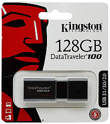 Флешка USB Kingston DT 100 G3 128GB