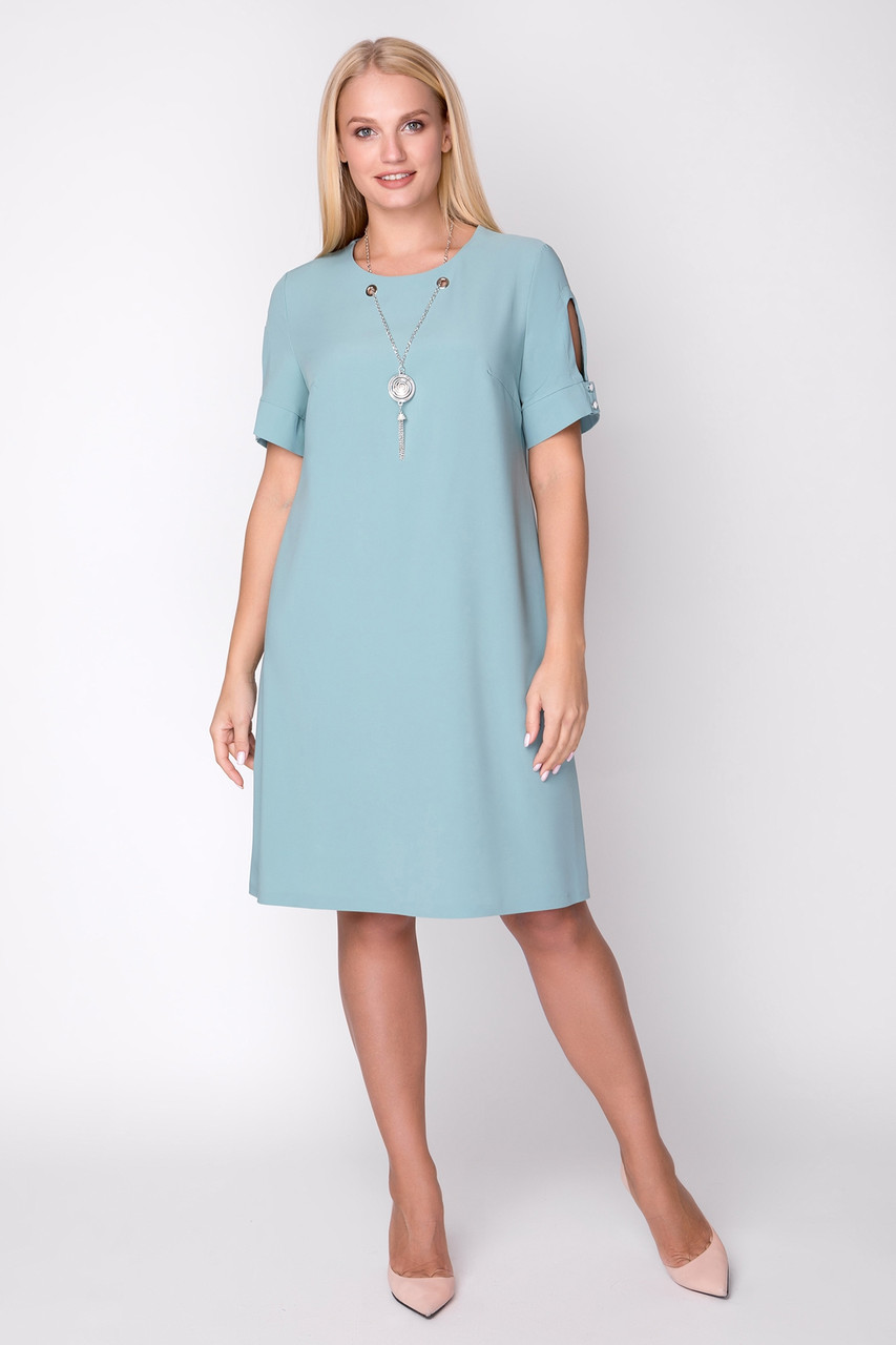 Платье Кулон 48-54 мята