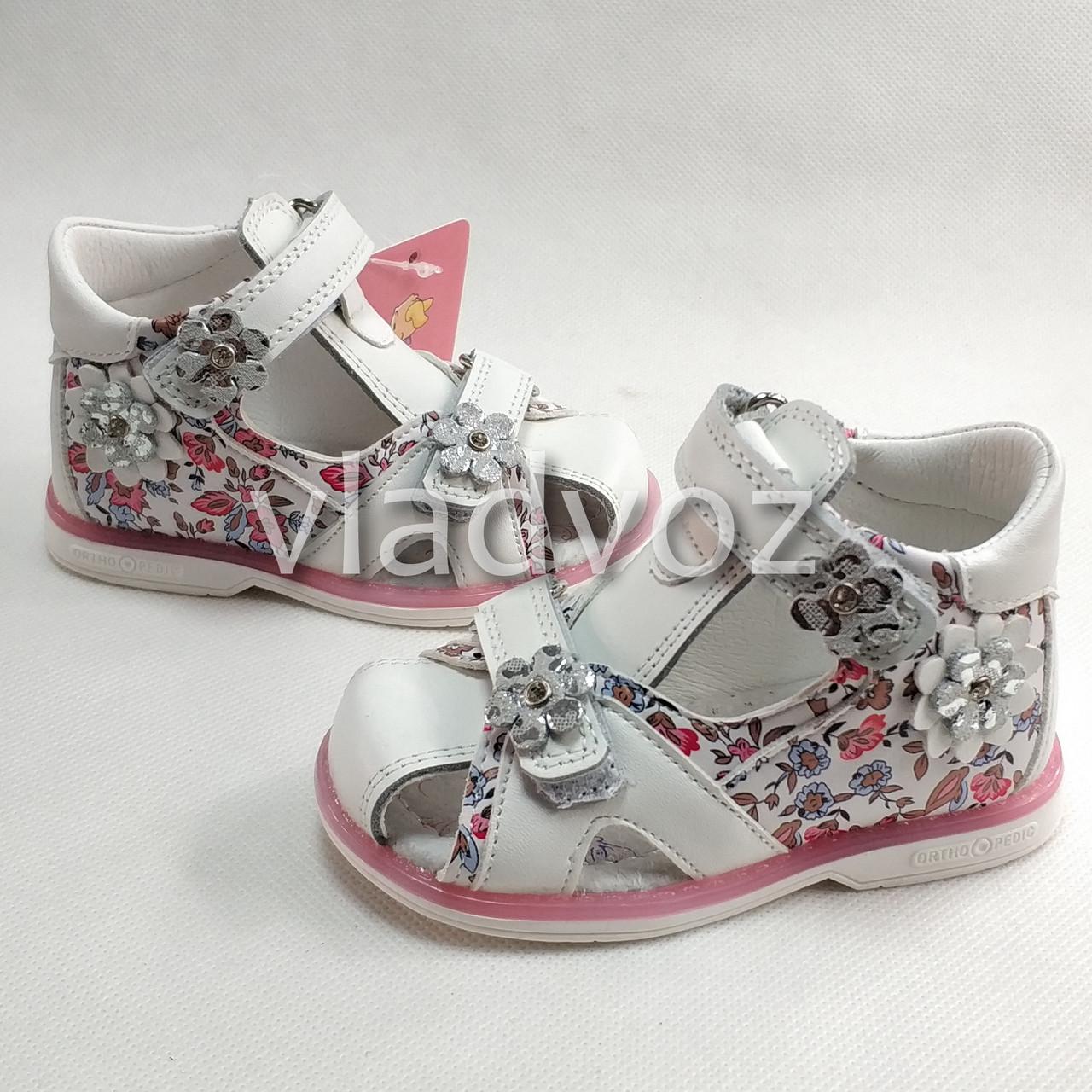 Босоножки сандалии для девочки белые Tom.m белые