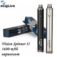 Аккумуляторы для электронных сигарет Vision Spinner 2 1600 mAh варивольт