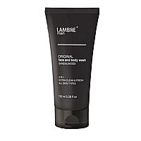 """Мужской гель для лица и тела с ароматом сандалового дерева """"Man Face and Body Wash"""" Ламбре / Lambre 150 ml"""