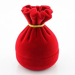 Футляр красный для кольца, серег 740119 размер 7*5 см