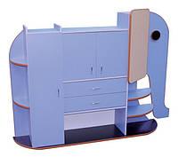 Стенка для игрушек «СЛОНЁНОК» — 1900х330х1350 мм