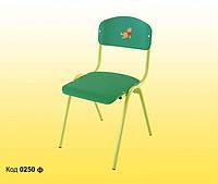 Стул детский ISO – спинка и сиденье из крашеной гнуто-клееной фанеры