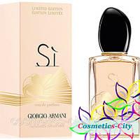 Женская парфюмированная вода Giorgio Armani Si Golden Bow Limited Edition,100 мл