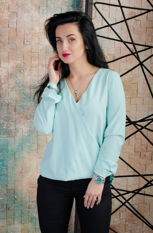 """Блуза """" Мариен"""" размеры 44,46,48,50, фото 2"""