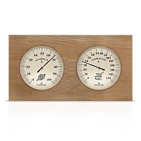 Термометр/гигрометр ТГС-7 деревянный для бани и сауны