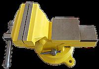 Тиски слесарные поворотные 125 мм Htools 07K212