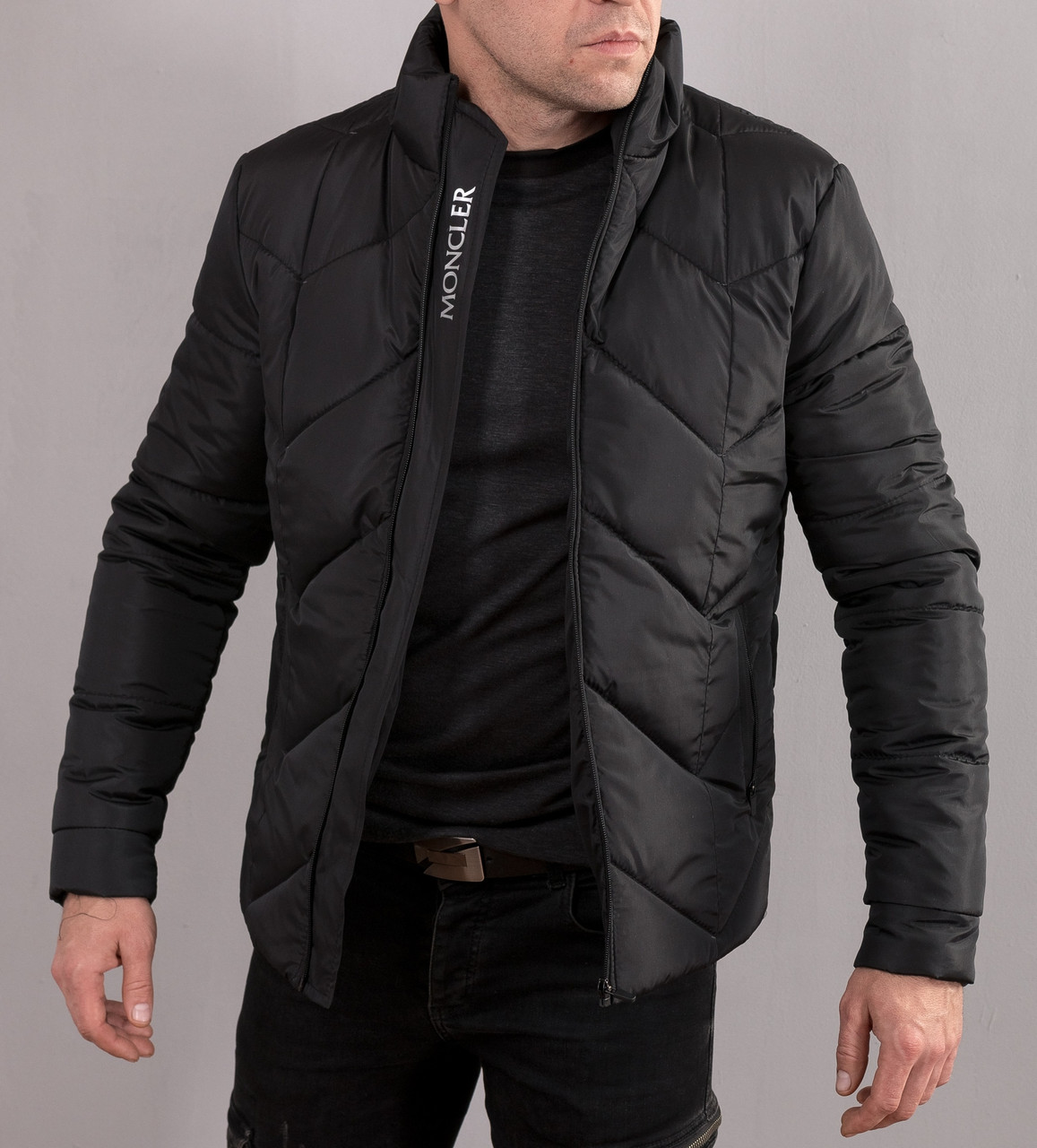 Мужская зимняя куртка в стиле Moncler