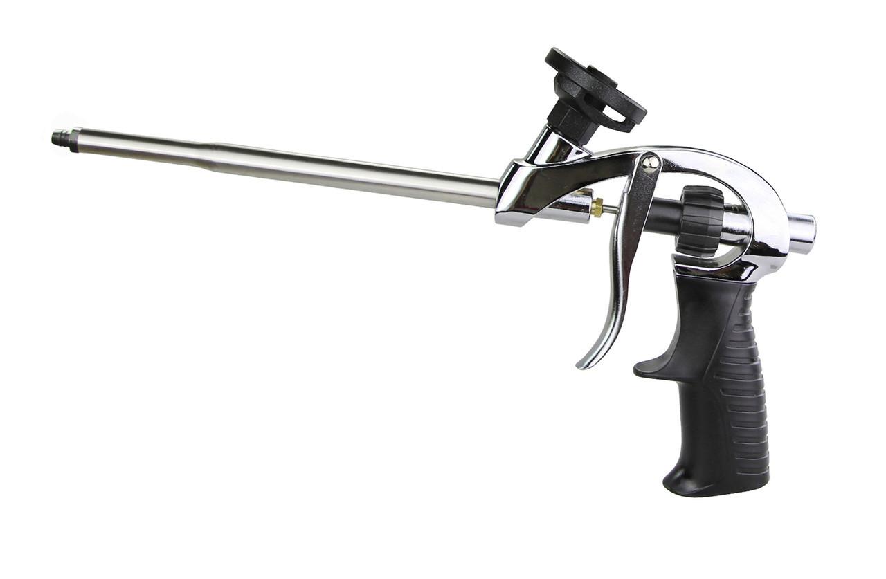 Пистолет для монтажной пены с тефлоновым покрытием, 4 насадки Htools 21B603