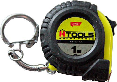 Рулетка брелок 1м Htools 27K401