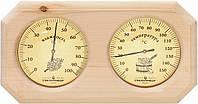 Термометр/гигрометр ТГС-2 деревянный для бани и сауны