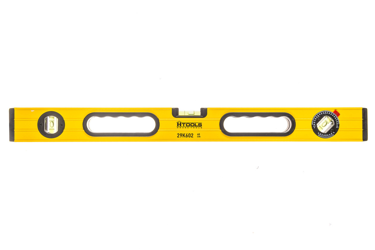 Уровень ПРОФИ 40 см, 3 глазка, две шлифовальные поверхности Htools 29K601