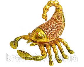 Шкатулка ювелирная Скорпион 1889-003