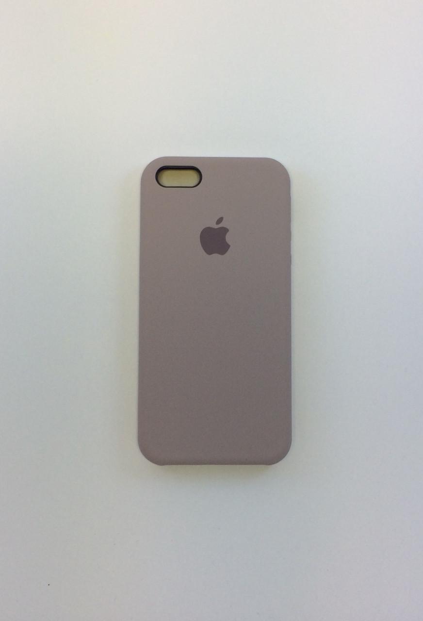 Силиконовый чехол для iPhone 5/5s/SE, - «лаванда» - copy original