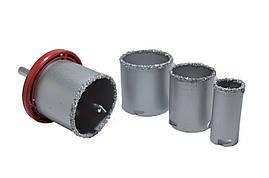 Набор свёрла для плитки с вольфрамовым напылением  32-73 мм (4 шт) Htools 60H901