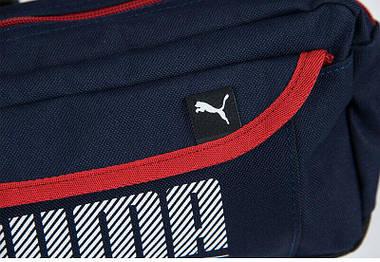 Сумка на пояс Puma Sole Waist Bag 1,7л Blue-Red, фото 3