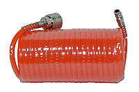 Шланг спиральный РЕ 5.5*8 мм, 20 м Htools 80K175