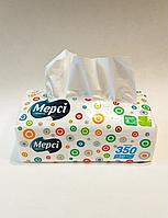 Серветки Мерсі двошарові гігієнічні паперові уп-400шт