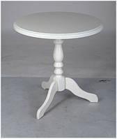 Деревянный обеденно-кофейный стол Одиссей, цвет белый, фото 1