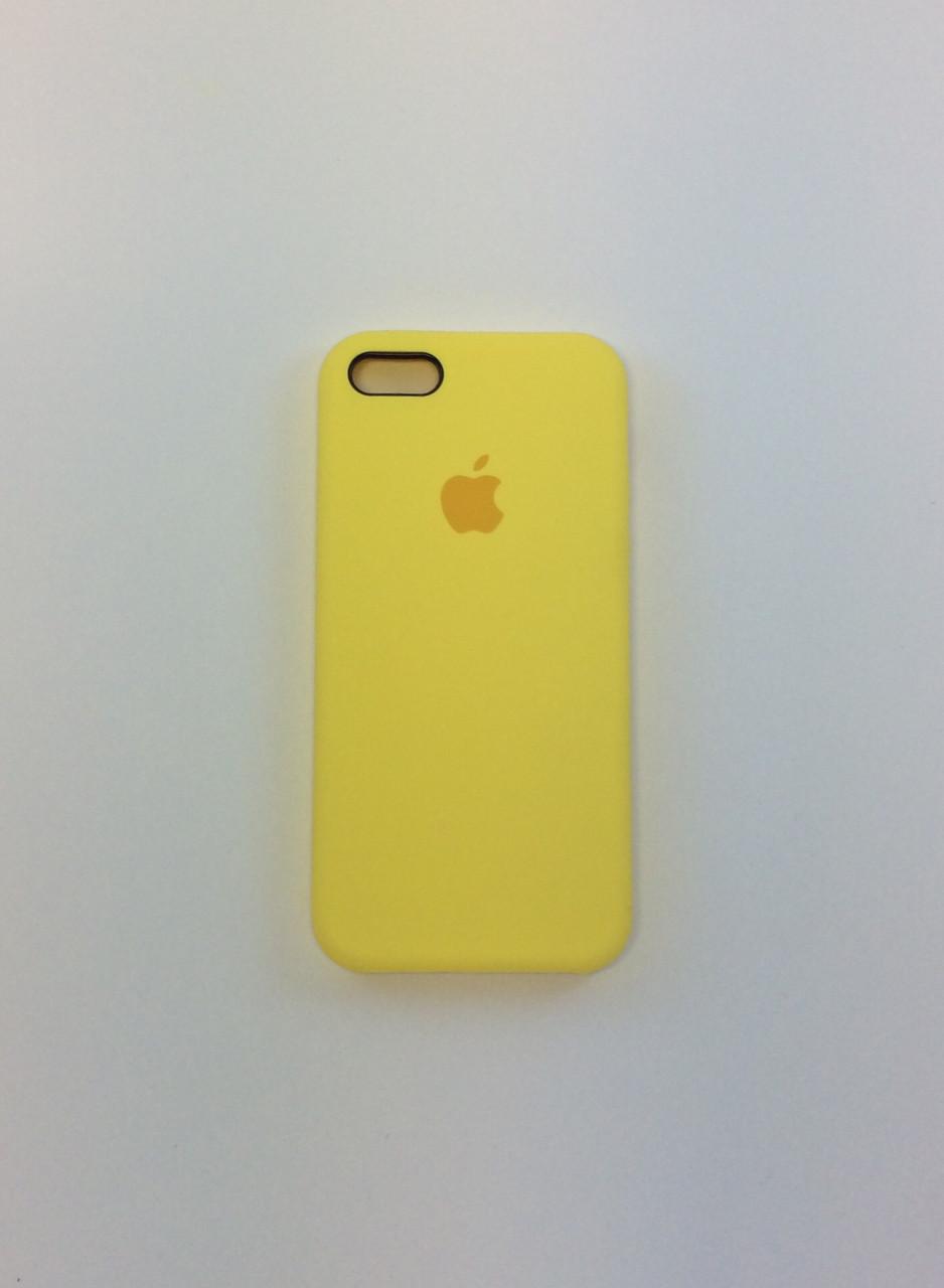 Силиконовый чехол для iPhone 5/5s/SE, - «холодный лимонад» - copy original