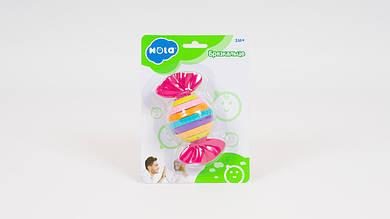 Погремушка-трещотка HOLA в форме конфеты