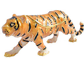 Шкатулка ювелирная Тигр 2729