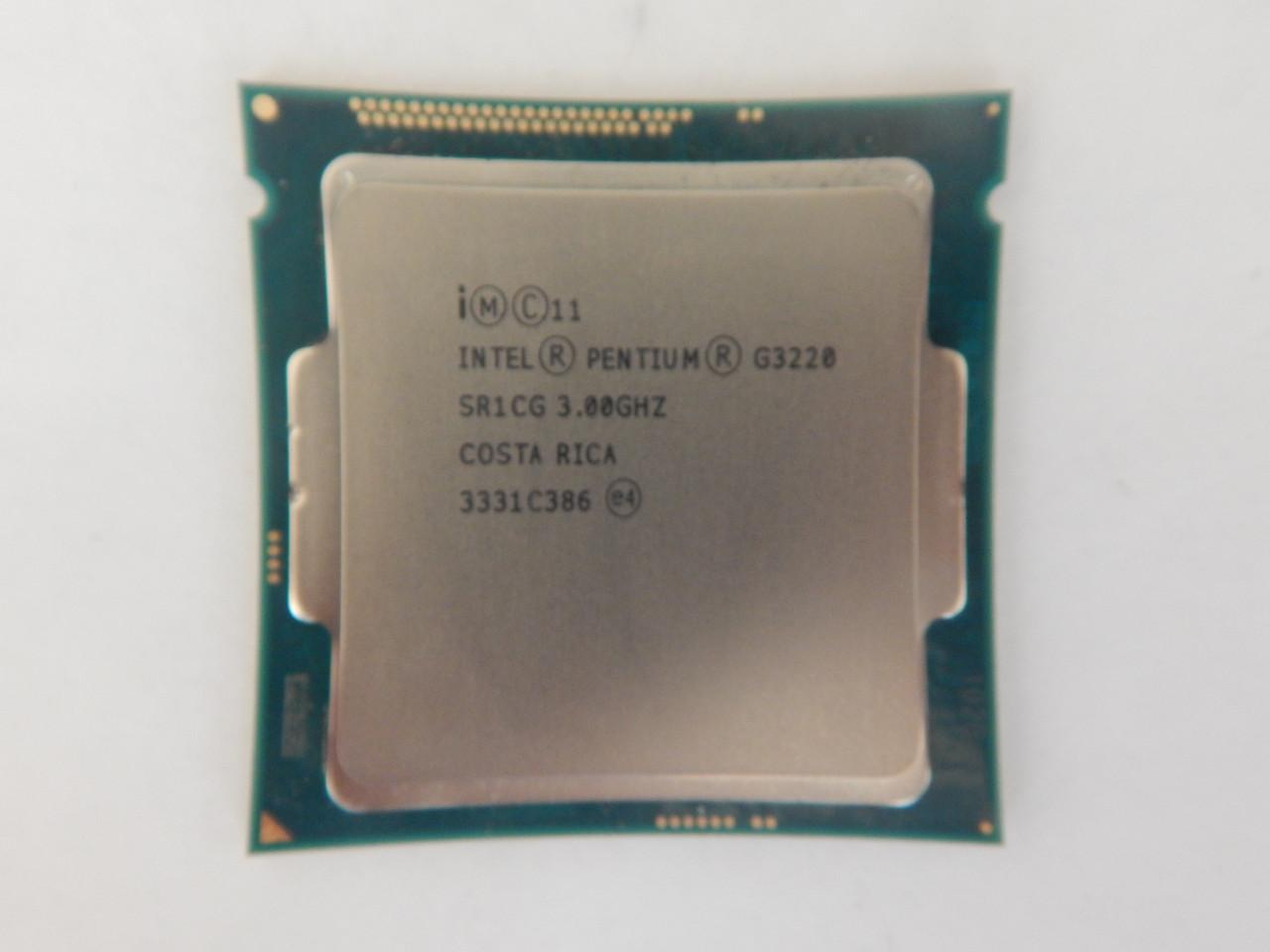 Процессор Intel G3220 сокет soket 1150 4-поколение
