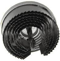 Набор корончатых сверл по гипсокартону составной, 26-63 мм, 7 размеров, высота 20 мм Htools 60K021