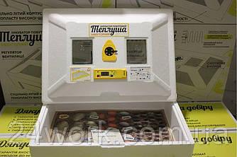 Автоматичний Інкубатор Теплуша 72 (автомат. перевор., цифровий терморег., вологомір) ТЕН