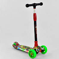 Трехколесный самокат Best Scooter MAXI, свет платформы, фото 1