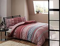 Полуторное постельное белье TAC Sweety pink Фланель