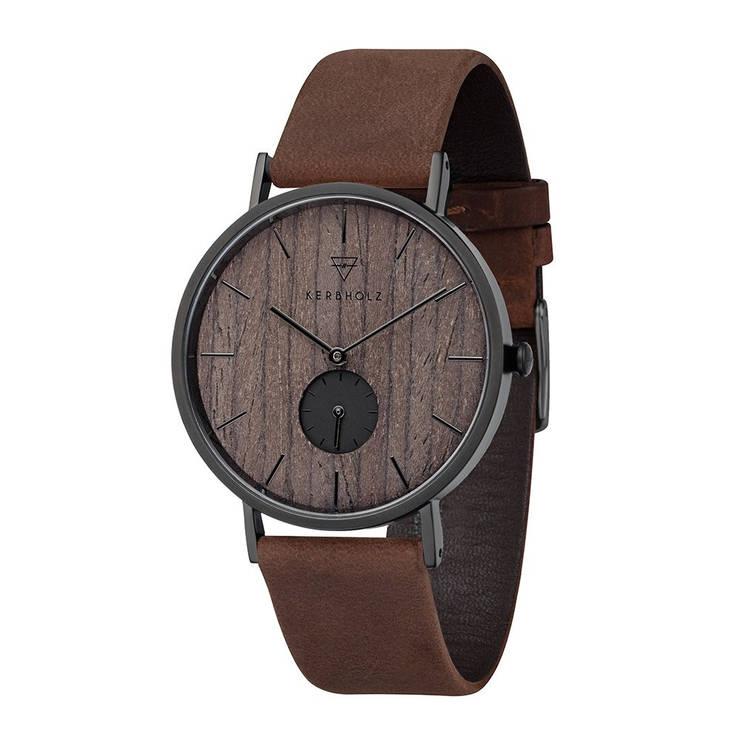 Чоловічий годинник Kerbholz Fritz Darkwood, фото 2