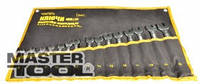 Набор ключей рожково-накидных 8 шт MasterTool  72-0108