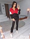 Женский спортивный костюм с капюшоном и прямыми штанами 66so611, фото 2