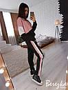 Женский спортивный костюм с капюшоном и прямыми штанами 66so611, фото 3