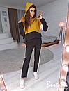 Женский спортивный костюм с капюшоном и прямыми штанами 66so611, фото 5